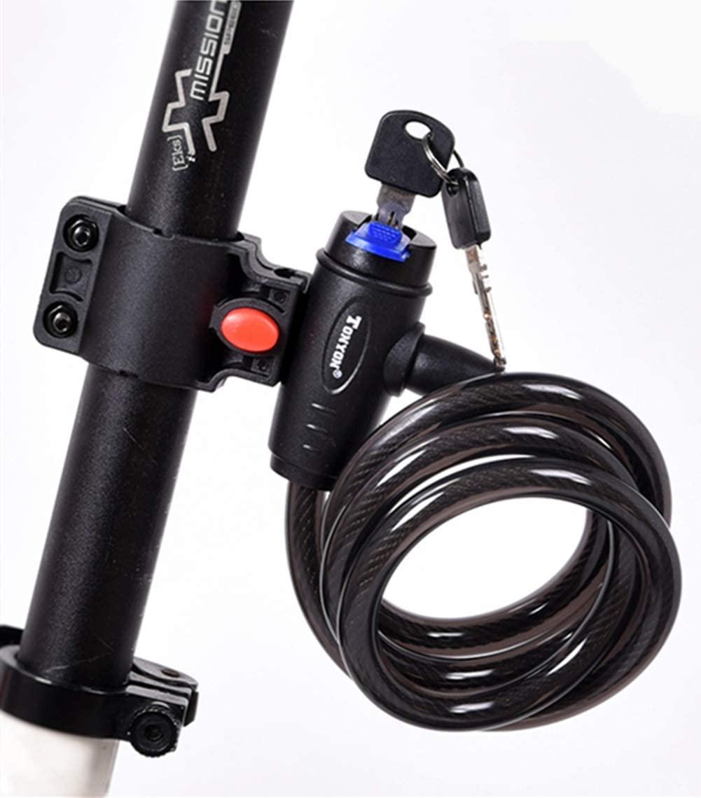 amazonで自転車のロックワイヤーを買ってみた話。