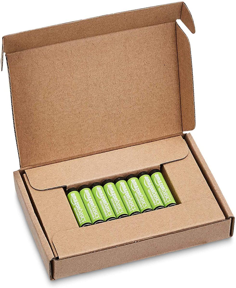 amazonで充電式電池を買ってみた話。